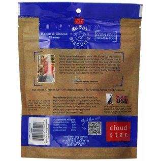 Cloud Star Cloud Star Buddy Biscuits Bacon and Cheese Soft Dog Treats 6-oz Bag