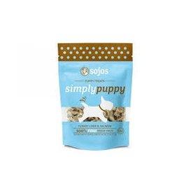 Sojos Sojos Simply Puppy Turkey & Salmon Freeze-Dried Dog Treats 2.5-oz Bag