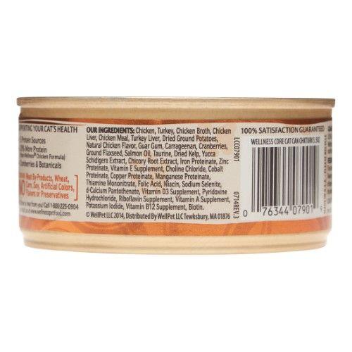 Wellness Core Chicken Turkey Chicken Liver Canned Cat Food