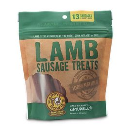 "Happy Howie's Happy Howie's Lamb Sausage Bakers Dozen 4"" Dog Chews 8-oz Bag, 13 count"
