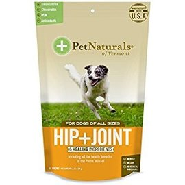 Pet Naturals Of Vermont Pet Naturals of Vermont Hip & Joint Chews for Dogs 60-Count Bag