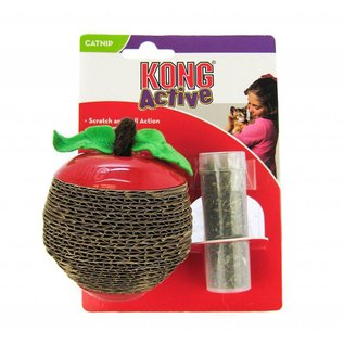 Kong Kong Scratch Apple Catnip Cat Toy