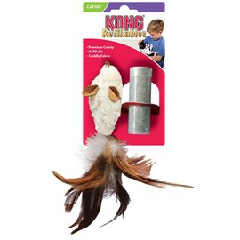 Kong Kong Refillable Feather Mouse Catnip Cat Toy