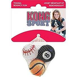 Kong Kong Sport Balls Small, 3-Pack