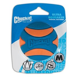 Chuckit! ChuckIt! Ultra Squeaker Ball Dog Toy Medium