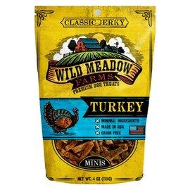 Wild Meadow Farms Wild Meadow Farms Classic Turkey Bite Dog Treats, 4-oz Bag