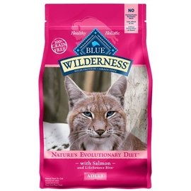 Blue Buffalo Blue Buffalo Wilderness Grain-Free Salmon Dry Cat Food 6-Lb Bag