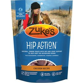 Zuke's Zuke's Hip Action Hip & Joint Support Roasted Chicken Dog Treats, 6-oz Bag