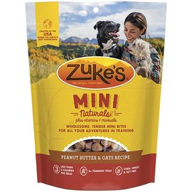 Zuke's Zuke's Mini Naturals Peanut Butter Dog Treats, 6-oz