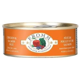 Fromm Pet Foods Fromm Chicken and Salmon Pate Canned Cat Food 5.5-oz Can
