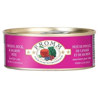 Fromm Pet Foods Fromm Chicken, Duck & Salmon Pate Canned Cat Food 5.5-oz