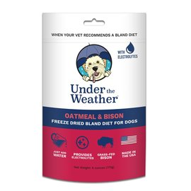 Under the Weather Under the Weather Bison & Oatmeal Bland Diet for Dogs, 6-oz Bag