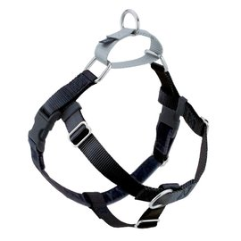 2 Hounds Design 2 Hounds Design Black Freedom No Pull Dog Harness