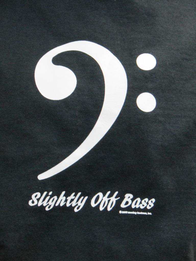 6330 OFF BASS 6330TSH Slighlty Off Bass Adult T-Shirt
