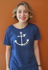 Lake Chick Wholesale TSH2004 Anchor Chick Women's T-Shirt