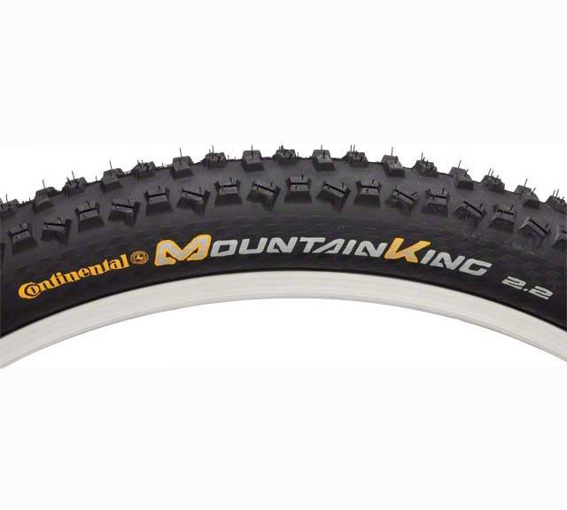 Continental Mountain King II 26 X 2.2 Fold UST Tubeless