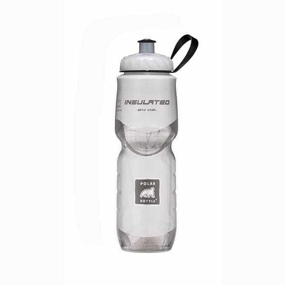 Polar Bottles Polar Insulated 24oz Water Bottle White