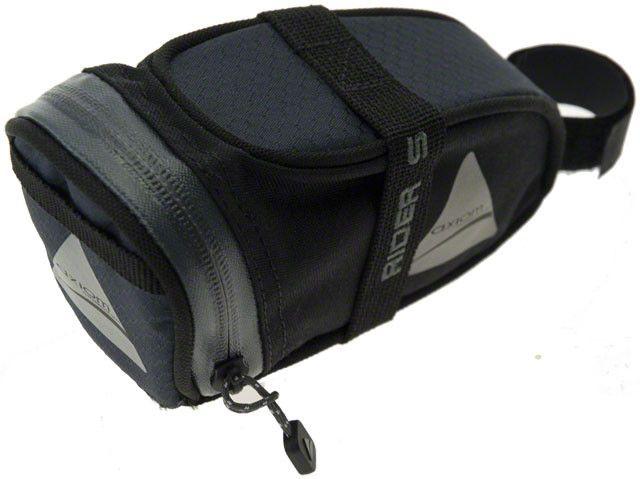 Axiom Axiom Rider DLX Seat Bag: Black/Gray; SM