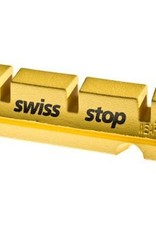 SwissStop Swiss Stop King Flash Yellow Pads For SRAM/Shimano Carbon Rims (4 Pads)