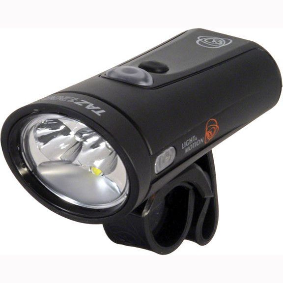 Light and Motion Taz 1200 Rechargeable Headlight: Black