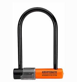 Kryptonite Mini Messinger U-Lock: Black