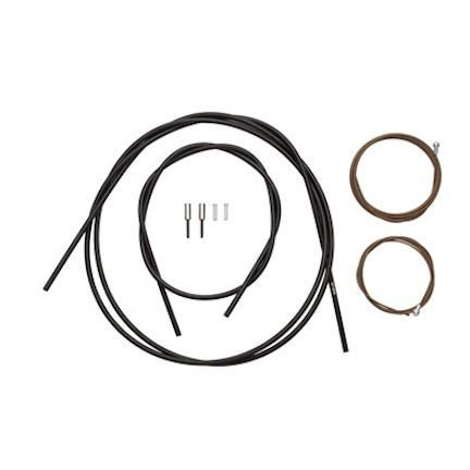 Shimano Dura-Ace Polymer-Coated Brake Cable Set, Black