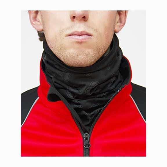 Giordana Neck Gaiter Knitted Polyro Black