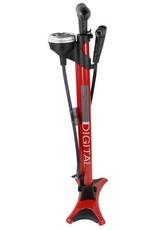 Serfas FPD 200 Digital Floor Pump Red