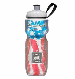 Polar Bottles Insulated 20oz Water Bottle USA Star Spangle