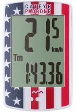 CatEye CatEye Padrone Wireless Cycling Computer CC-PA100W: USA Flag