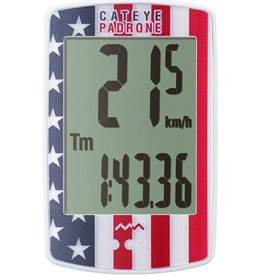 CatEye CatEye Padrone Wireless Cycling Computer CC-PA100W: USA Flag