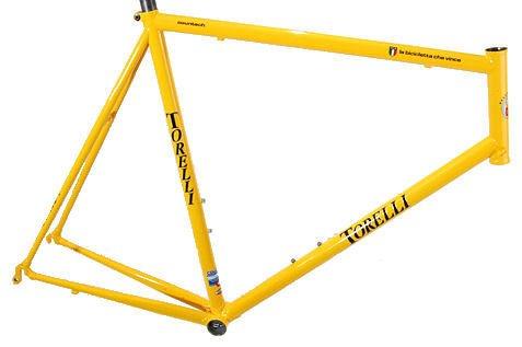 Torelli Countach Frame yellow 58cm