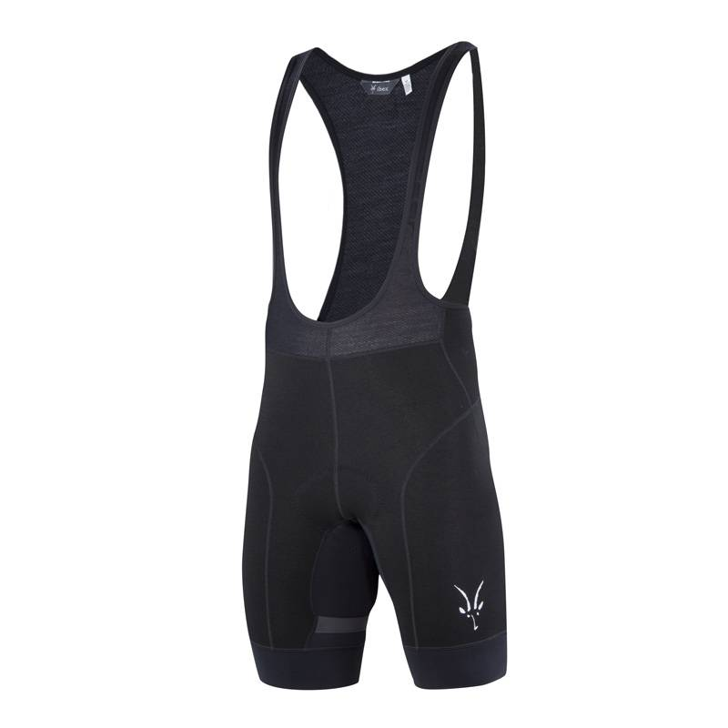 Ibex Wool Men's Cycling Bib Short Blk