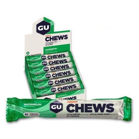 GU GU Energy Chews Box of 24