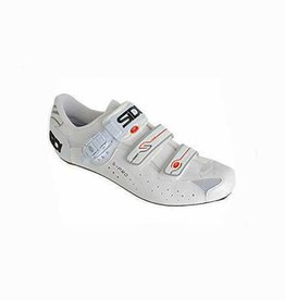 Sidi Sidi Mens Genius 5 Road Shoe Vernice White 46
