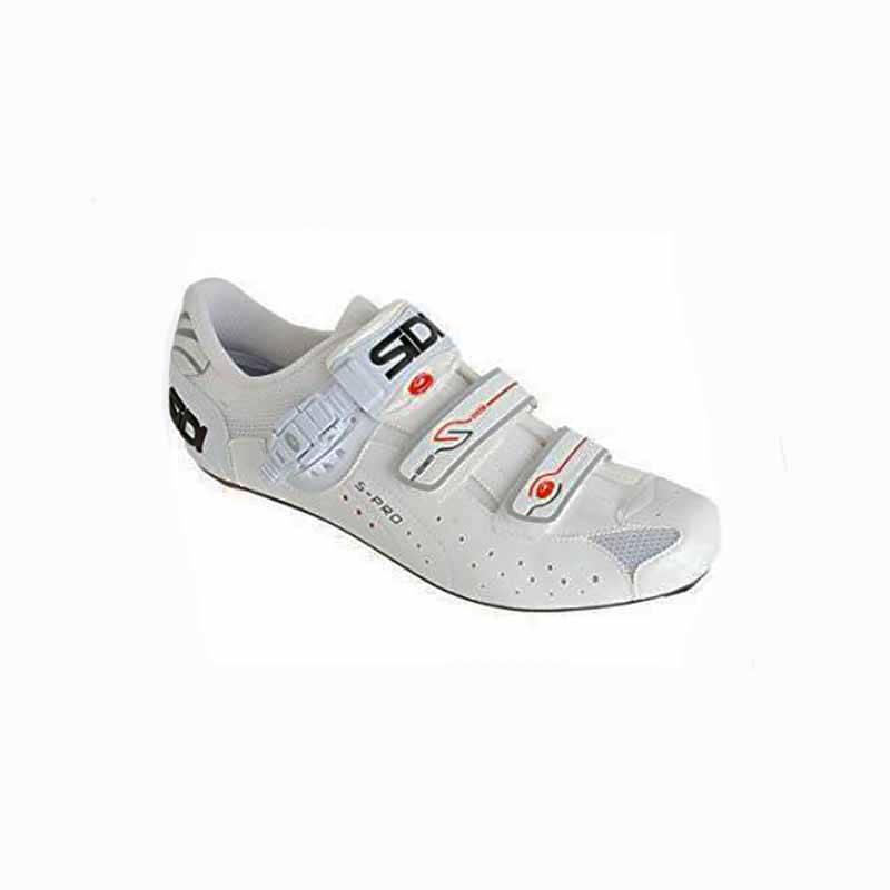 Sidi Sidi Mens Genius 5 Road Shoe Vernice White 46