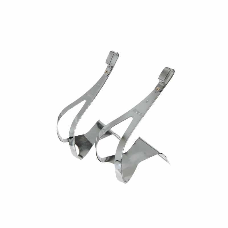 MKS MKS Steel Toe Clips Chrome