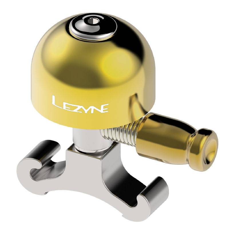 Lezyne Classic Brass Bell: Small Silver