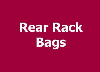 REAR RACK BAGS