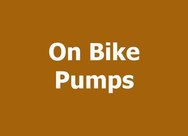 ON BIKE PUMPS
