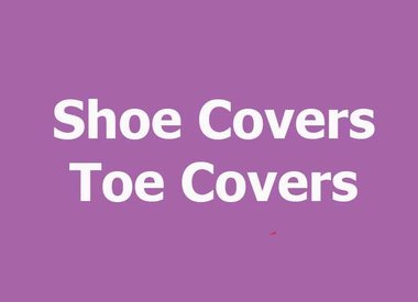 SHOE/TOE COVERS