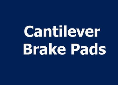 CANTILEVER BRAKE PADS
