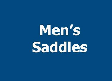 MEN'S SADDLES
