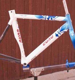 Guru 2005 Trilite Frame/Fork blue/white 57cm