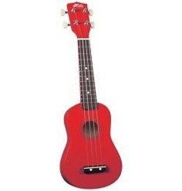 Hilo Hilo Soprano Ukulele w/ Bag - Red