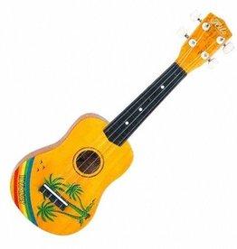 Hilo Hilo Ukulele - Soprano w/ Hawaiian Motif