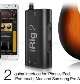 IK Multimedia iRig 2 Digital Guitar Interface for iOS Hardware