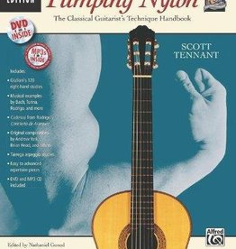 Alfred Pumping Nylon: Complete - A Classical Guitarist's Technique Handbook By Scott Tennant