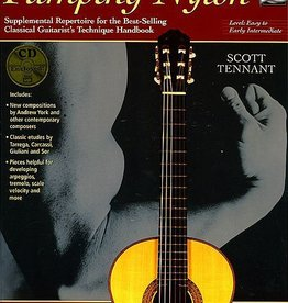 Alfred Pumping Nylon: Easy to Early Intermediate Repertoire By Scott Tennant (Book & CD)