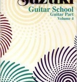 Alfred Suzuki Guitar School Guitar Part, Volume 4
